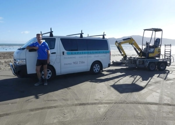 Mark from Kapiti Plumbing, Gasfitting and Drainlaying